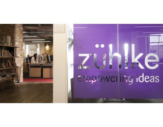 Entrance area of Zühlke office in UK